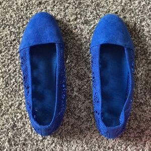 Shoes - Cute blue flats